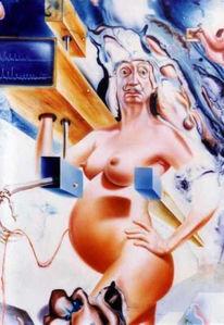 Archetype, Phantastischer realismus, Affirmation, Schwangerschaft