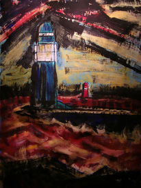Malerei, Abstrakt, Sturm