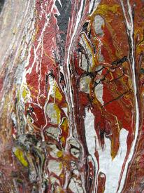 Acrylmalerei, Gips, Holz, Malerei