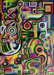 Freude, Tanz, Zukunft, Farben