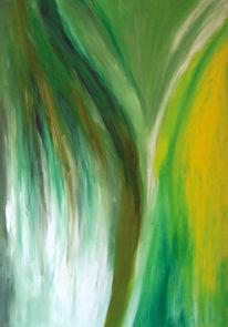 Malerei, Abstrakt, Baum