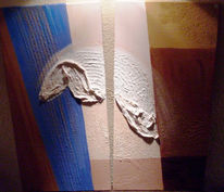 Abstrakt, Malerei, Flügel