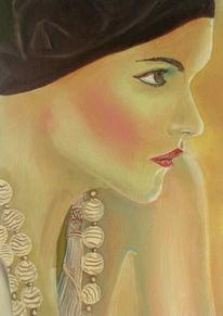 Portrait, Gesicht, Frau, Weiblich