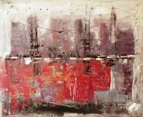 Elemente, Rot, Architektur, Abstrakte landschaft