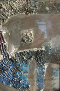 Geschliffen, Alu, Struktur, Malerei