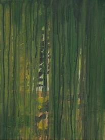 Malerei, Wald