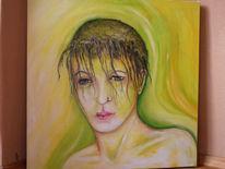 Saat, Frau, Jahreszeiten, Malerei