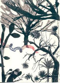 Baum, Figur, Garten, Fotografie