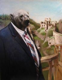Eisbär, Malerei