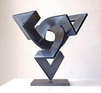 Skulptur, Dimension, Abstrakt, Konstruktion