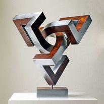 Skulptur, Raumskulptur, Konstruktion, Bewegung