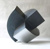 Drehung, Bewegung, Skulptur, Veränderbar