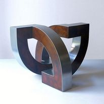 Dynamisch, Entfaltung, Konstruktion, Metall