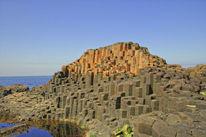 Irland, Giants causeway, Basalt, Fotografie