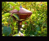 Grün, Öllampe, Herbst, Alt