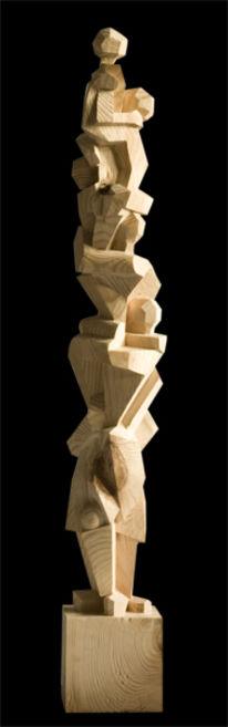 Holz, Kubismus, Skulptur, Plastik