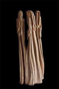 Holzskulptur, Skulptur, Geist, Holz