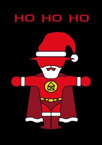 Verkehrssymbol, Weihnachten, Humor, Ampelmännchen