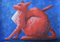 Tiere, Irina wall, Katze, Tiermalerei