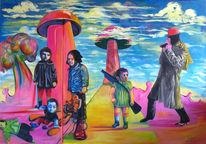 Malerei, Kindheit, Kinder