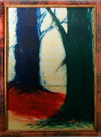Blau, Baum, Rot, Wald