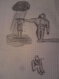 Surreal, Realität, Leid, Zeichnungen