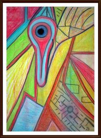 Figur, Bunt, Verträumt, Farben