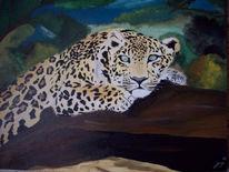 Acrylmalerei, Malerei, Jaguar