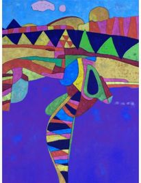 Ölmalerei, Abstrakt, Expressionismus, Panel