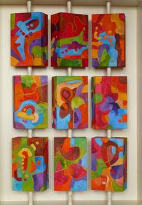 3d, Abstrakt, Malerei