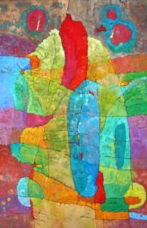 Panel, Expressionismus, Ölmalerei, Abstrakt