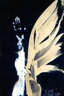 Ikarus, Handabdruck, Flügel, Arm