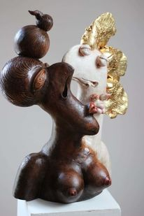 Ceramic sculpture, Figur, Liebe, Figurative kunst