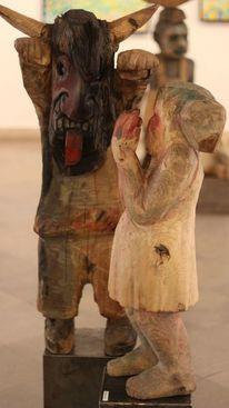 Design, Skulptur, Holz, Modern