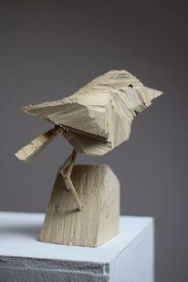 Design, Skulptur, Vogel, Wooden birds