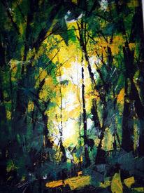 Licht, Fee, Romantisch, Wald