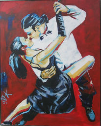 Malerei, Figural, Tango