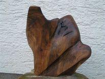 Skulptur, Holz, Kunsthandwerk, Freie