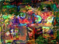 Stimmungsvoll, Augenblick, Gemälde, Spielerei