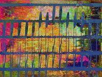 Digitale kunst, Mischtechnik, Kinderträume, Gemälde