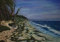 Strand, Malerei