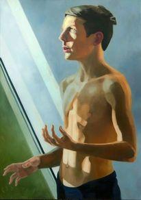 Figur, Erkentniss, Licht, Malerei