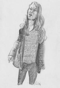 Hipster, Mädchen, Zeichnungen,
