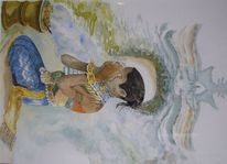 Kunstwerk, Indonesien, Hinduismus, Malerei
