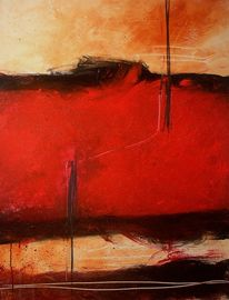Terra, Rot schwarz, Sienna, Malerei