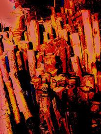 Woodstock, Digitale kunst, Surreal