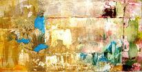 Gips, Abstrakt, Ölmalerei, Malerei