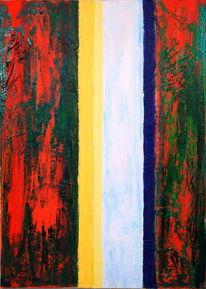 Acrylmalerei, Abstrakt, Linienbilder, Malerei