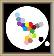 Farben, Symbol, Malerei, Abstrakt