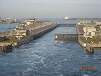 Ausschleusen, März2010, Hafen, Reise